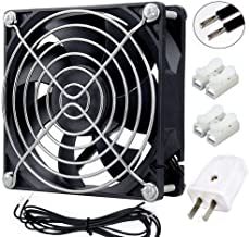 Wathai EC Axial Fan AC 110V 115V 120V 220V 240V Brushless Cooling Fan 80mm x 25mm
