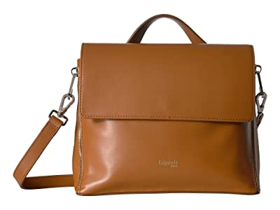 Lipault Paris Rendez-Vous Crossbody Bag (Caramel) Handbags