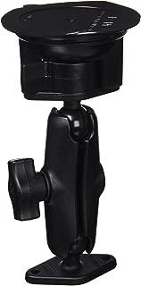Ram Mount RAM-B-166U Double Ball Twist-Lock Suction Cup Mount