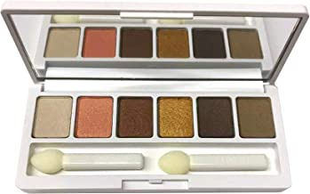 Clinique Limited Edition All About Shadow Palette Bronze Satin Morning Java At Dusk Black Honey Peach Pop Ivory Bisque Travel Size 0.10 Oz