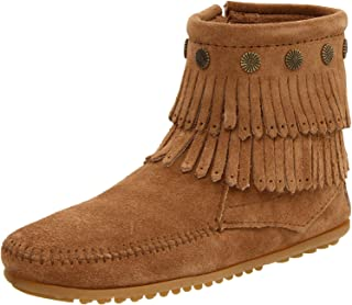 Women's Double-Fringe Side-Zip Boot