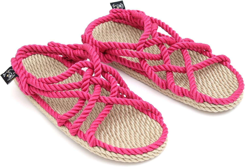 Nomadics JC Damen Sandale Sandale Sandale aus Seil 2c6