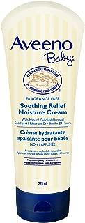 Aveeno Baby Soothing Relief Moisture Cream, Fragrance Free, 223ml