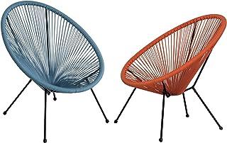 sélection premium 91944 84a7a Amazon.fr : chaises en fil plastique
