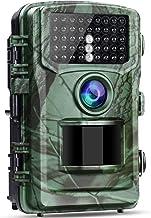 Trail Cameras with Night Vision Motion Activated IP56 Waterproof,Wildlife Camera 20MP 4K Lite Hunting 120° PIR Sensor Rang...