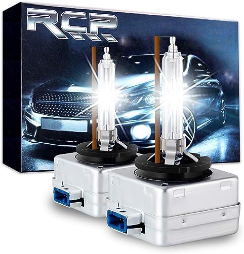 RCP D8S 4300K A Pair Xenon HID Replacement Bulb Warm White Metal Stent Base 12V Car Headlight Lamps Head Lights 25W
