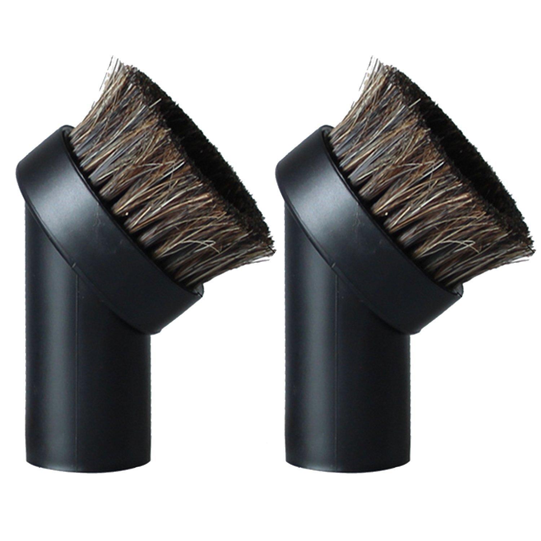 2 piezas de repuesto universal para cepillo de pelo de caballo redondo con boquilla para aspiradora y limpiador de polvo 32 mm: Amazon.es: Hogar