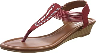 BATA Women's Glow Sandal Ballet Flats