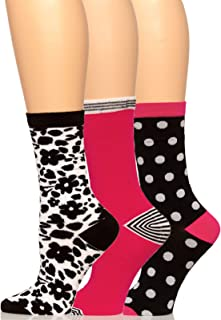 Felina | Crew Socks 3-Pack | Soft | Comfort | One Size Fits All
