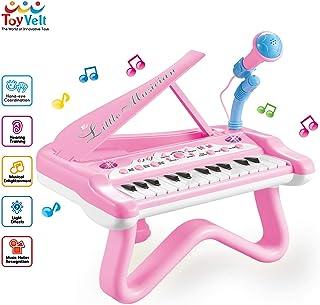 Piano de juguete ToyVelt para niñas pequeñas, piano bonito