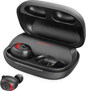 Bluetooth Earbuds Bluetooth Earphones Wireless Headphones, OFUSHO Bluetooth 5.0 Earbuds 152H Playtime Deep Bass IPX7 Waterproof TWS Stereo in-Ear Headphones with Charging Case, CVC8.0 Apt-X