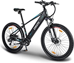 """ESKUTE Electric Mountain Bike 27.5""""E-MTB Bicycle 250W with Removable Lithium-ion Battery 36V 12.5A for Men Adults, Shimano..."""