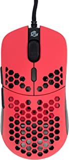 G-Wolves Hati HT-M 2020 Edition Ultra Lightweight Honeycomb Design Wired Gaming Mouse (61g) (Red)