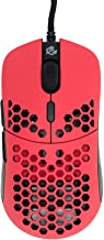 Gwolves Hati 2020 Edition Ultra Lightweight Honeycomb Design Wired Gaming Mouse 3360 Sensor - PTFE Skates - 6 Buttons - On...