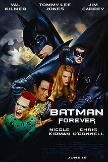 BATMAN FOREVER MOVIE POSTER 1 Sided ORIGINAL FINAL 27x40 VAL KILMER TOMMY LEE JONES