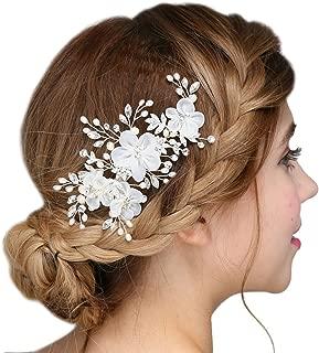 silk flower comb
