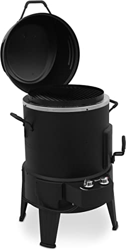 Char-Broil-The-Big-Easy-TRU-Infrared-Smoker-Roaster-&-Grill-+-Cover