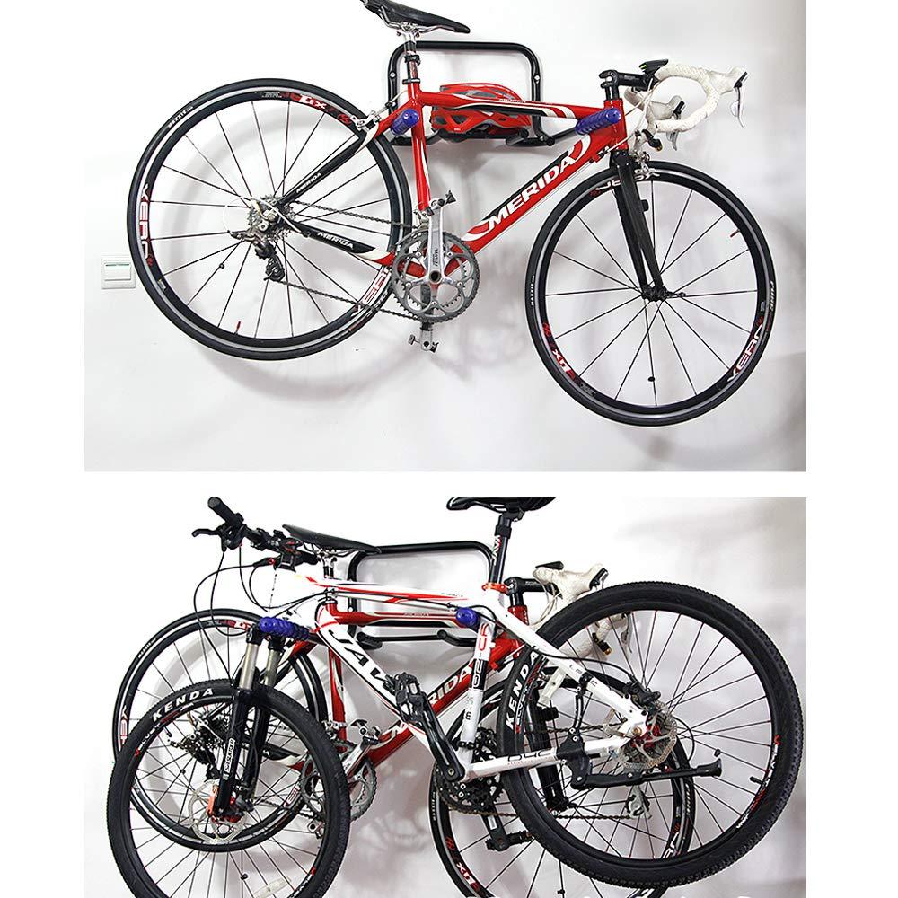 Soporte De Bicicleta, 2/3 Bicicletas Montado En La Pared De ...
