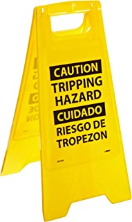 NMC HDFS207 Bilingual Heavy Duty Floor Stand Sign, Legend