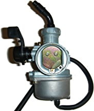 Aquiver Auto Parts Thumb Throttle with Dual Brake Lever Assy for 50cc 90cc 150cc 250cc ATV Quad Roketa Taotao Sunl Kazuma