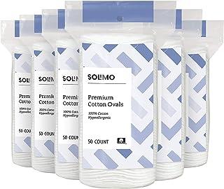 مارک آمازون - لنت های برتر Premium بیضی شکل Solimo 50 ct (بسته 6 عددی)