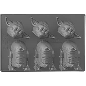 Underground Toys Yoda & R2 Star Wars Home Kitchen Ice Cube Tray