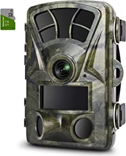 ZIMOCE Trail Camera 16MP 1080P Game Hunting Cameras with...