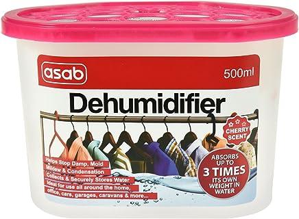 香味*机适用于家居 | 衣柜吸湿器 | 带水晶的潮湿陷阱 | 便携式湿捕湿器 | 防霉湿* Cherry 1 Pack AS-12869