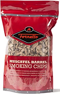 Alfresco Home Fornetto Smoking Wood Chips, Muscatel, 14.oz Bag