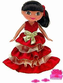 Fisher Price 2009 Holiday Dora Doll