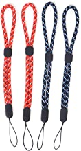 Honbay 4PCS Universal Adjustable Hand Wrist Strap Hand Lanyard Wristlet Wristband with Lock for Wii Remote Controller, Cel...
