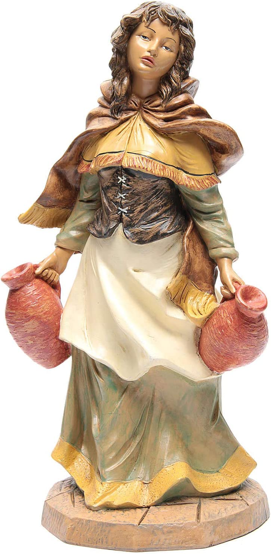 Holyart Nativity 1 year warranty Scene Statue Woman cm with 45 jugs Los Angeles Mall