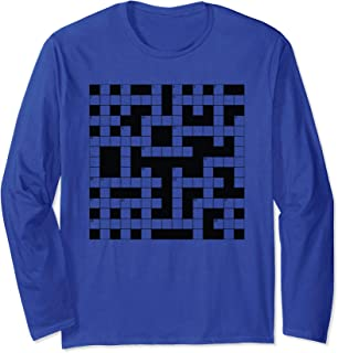 Crossword Puzzle Master Long Sleeve T-Shirt