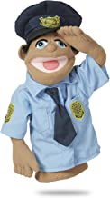 Melissa & Doug Police Officer Puppet with Detachable Wooden Rod for Animated Gestures