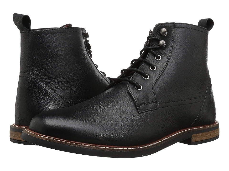 Ben Sherman Birk Plain Toe Boot (Black 1) Men
