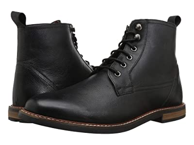 Ben Sherman Birk Plain Toe Boot (Black 1) Men