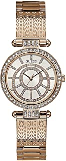 Guess Women's Dial Stainless Steel Band Watch - U1008L2