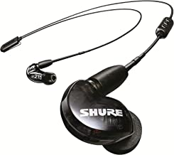Shure SE215 BT2 Wireless Sound Isolating Earbuds, Premium Audio with Deep Bass, Single Driver, Bluetooth 5, Secure In-Ear ...