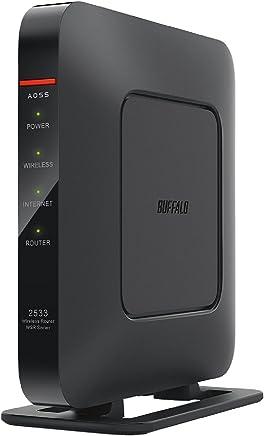 BUFFALO WiFi 無線LAN ルーター WSR-2533DHPL 11ac ac2600 1733+800Mbps デュアルバンド 4LDK 3階建向け 【iPhone8/iPhoneX/iPhoneXS/Amazon Echo メーカー動作確認済み】