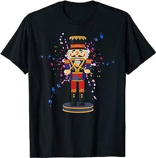 Nutcracker Watercolor Paint Splatter T Shirt