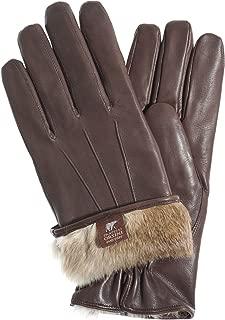 Fratelli Orsini Everyday Men's Our Bestselling Italian Rabbit Fur Gloves