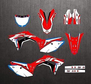 BAN SHUI JU MINSU GUANLI Compatibile per Honda CRF 250R 450R 250RX 450RX 250X 450X 450L CRF50R 02-20 Anteriore M16 Posteriore M22 Dado Perno Ruota Uso Sicuro Color : Red