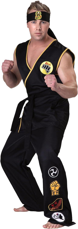 Mens Yukata with Obi Belt(SizeXL Saya type Black)