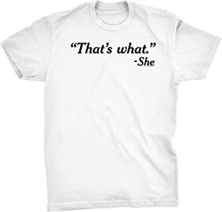 that's what she said the office shirt