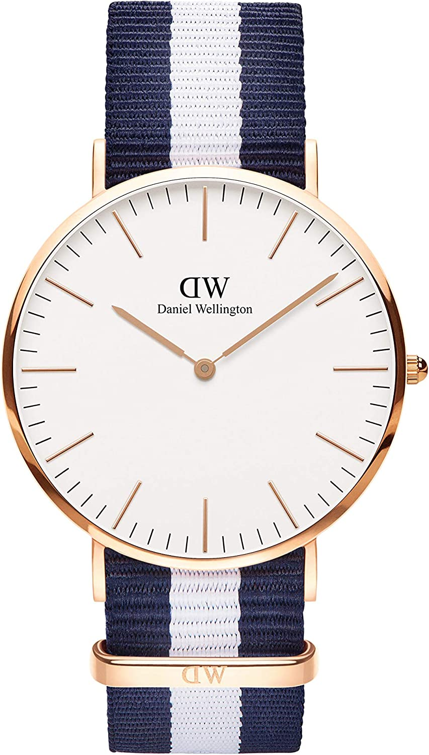 Daniel Wellington New Orleans Mall Classic Glasgow Multicolor Band NATO Watch Direct sale of manufacturer