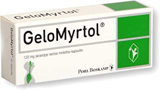 GeloMyrtol 120mg 20 Capsules Quick Pain Relief Coughs Chronic Bronchitis Sinusitis