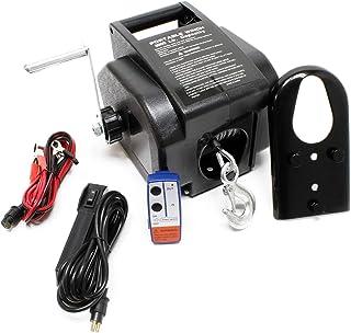 Torno Cable eléctrico 12V Cabrestante Winche Control Remoto