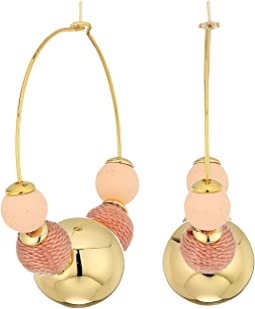 Rebecca Minkoff - Multi Ball Hoop Earrings