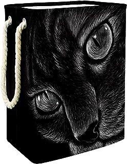 Yuzheng Panier à Linge avec poignées Souples, bac de Rangement pour Le Salon Gros Chat Tigre pour Home , College Dorm , Ho...