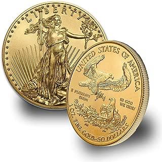 50 gold eagle coin